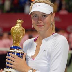 Tennisstjerne Maria Sharapova