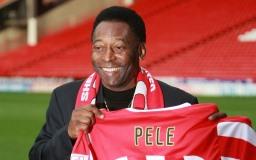 Berømte fodboldspiller Pelé