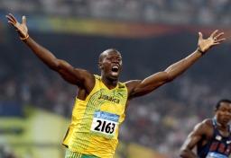 100m verdensrekordholder Usain Bolt