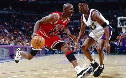 Basketballstjerne Michael Jordan