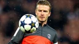 Fodboldspiller David Beckham