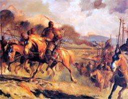 Wei Qing Han kinesisk helten