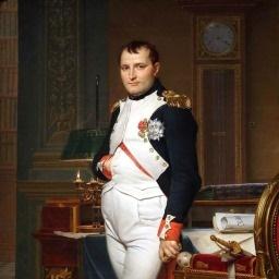 Fransk gud for krig Napoleon Bonaparte