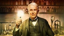 Amerikanske opfinder Thomas Edison