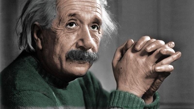 Fysiker Albert Einstein (Billede 1)